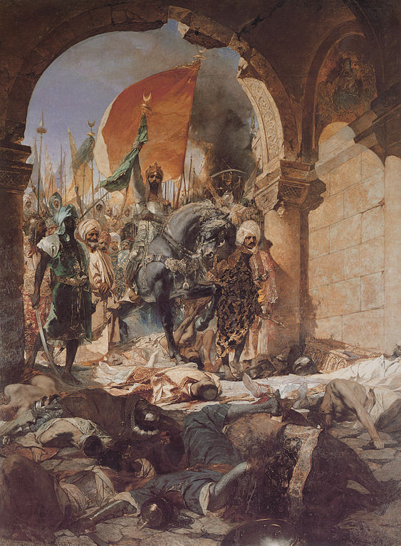 [Benjamin Constant, The entry of Mahomet II into Constantinople]